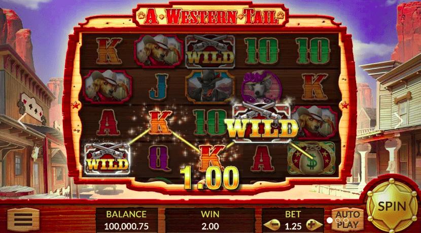 Western Tail на официальном онлайн казино Пегас21